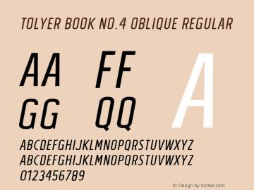 Tolyer Book no.4 Oblique
