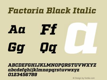 Factoria Black