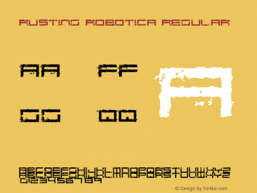 Rusting Robotica