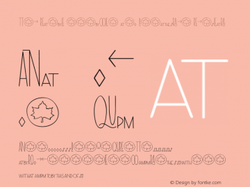 The Rambl Symbols and Ligatures