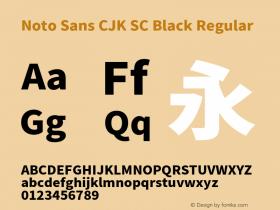 Noto Sans CJK SC Black