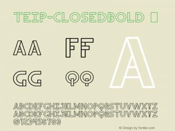 Teip-ClosedBold