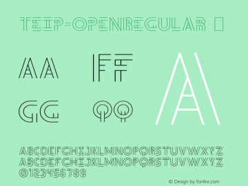 Teip-OpenRegular