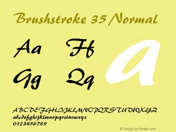 BrushStroke 35