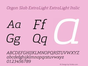 Orgon Slab ExtraLight
