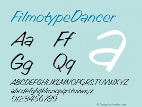 FilmotypeDancer