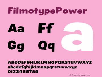 FilmotypePower
