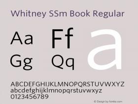 Whitney SSm Book