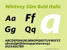 Whitney SSm Bold