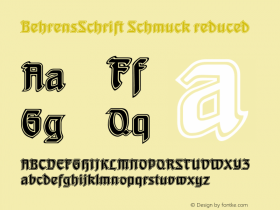 BehrensSchrift