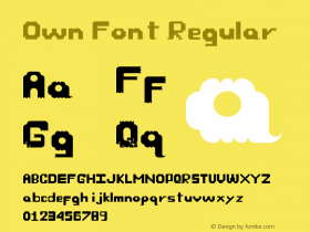 Own Font