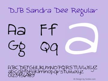 DJB Sandra Dee