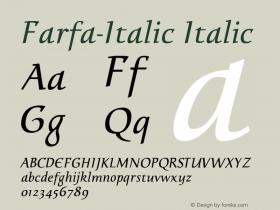 Farfa-Italic