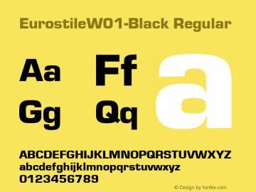 Eurostile-Black