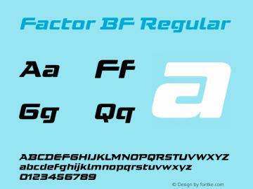 Factor BF