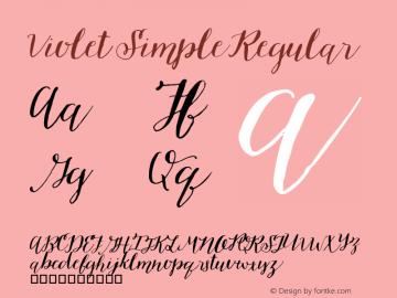 Violet Simple