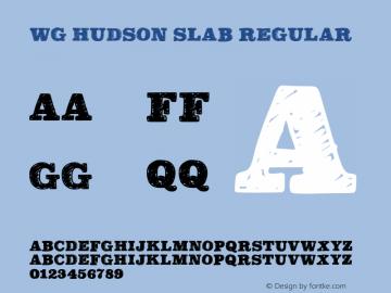 WG Hudson Slab