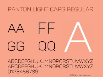 Panton Light Caps