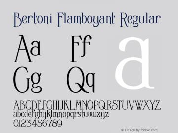 Bertoni Flamboyant