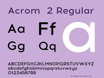 Acrom 2