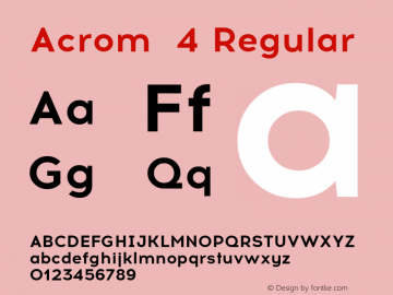 Acrom 4