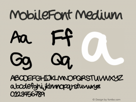 MobileFont