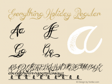 Everything Holiday
