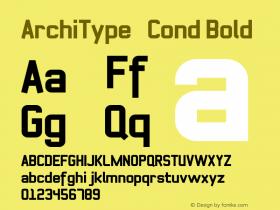 ArchiType Cond