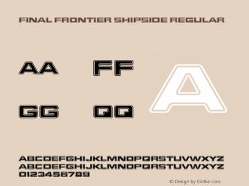 Final Frontier Shipside