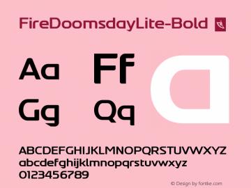 FireDoomsdayLite-Bold