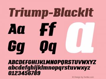 Triump-BlackIt