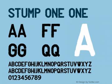 Stump one