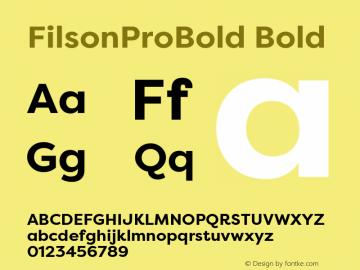 FilsonProBold
