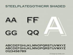 SteelplateGothicRR