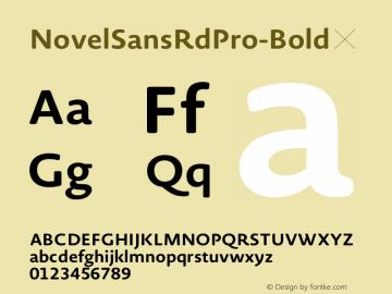 NovelSansRdPro-Bold