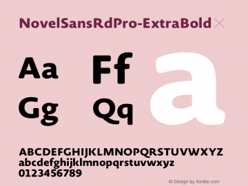 NovelSansRdPro-ExtraBold