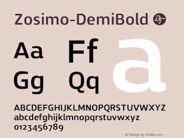Zosimo-DemiBold