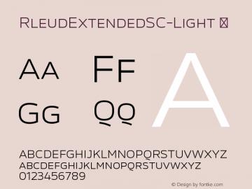 RleudExtendedSC-Light