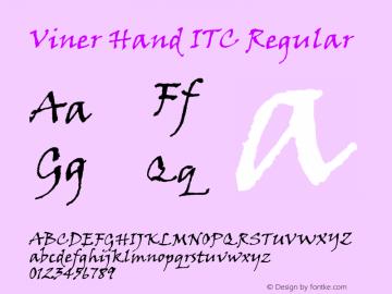 Viner Hand ITC