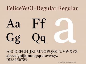 Felice-Regular