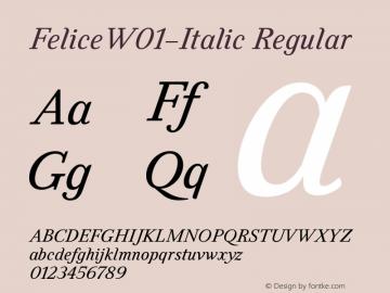 Felice-Italic