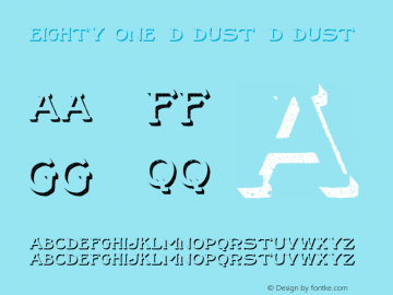 Eighty One 3D Dust