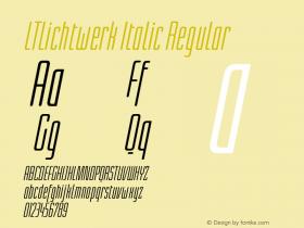 LTLichtwerk Italic
