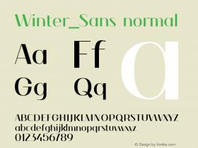 Winter_Sans