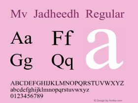 Mv Jadheedh