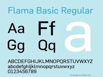 Flama Basic