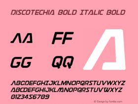 Discotechia Bold