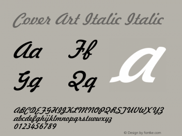 Cover Art Italic