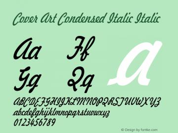 Cover Art Condensed Italic