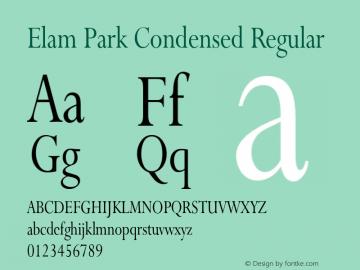 Elam Park Condensed